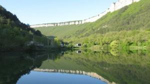 озеро на мангупе