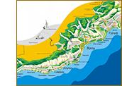 Карта Большой Ялты