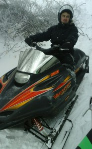 Прокат снегохода в Крыму