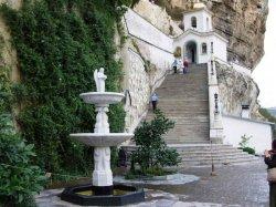 Свято-Успенский пещерный монастырь в Крыму