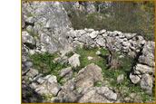 Руины древних жилищ