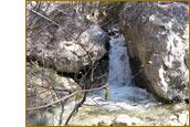 Водопад в Уч-Коше