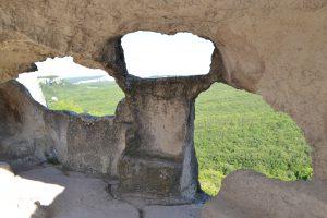 Пещерный город Эски Кермен в Крыму