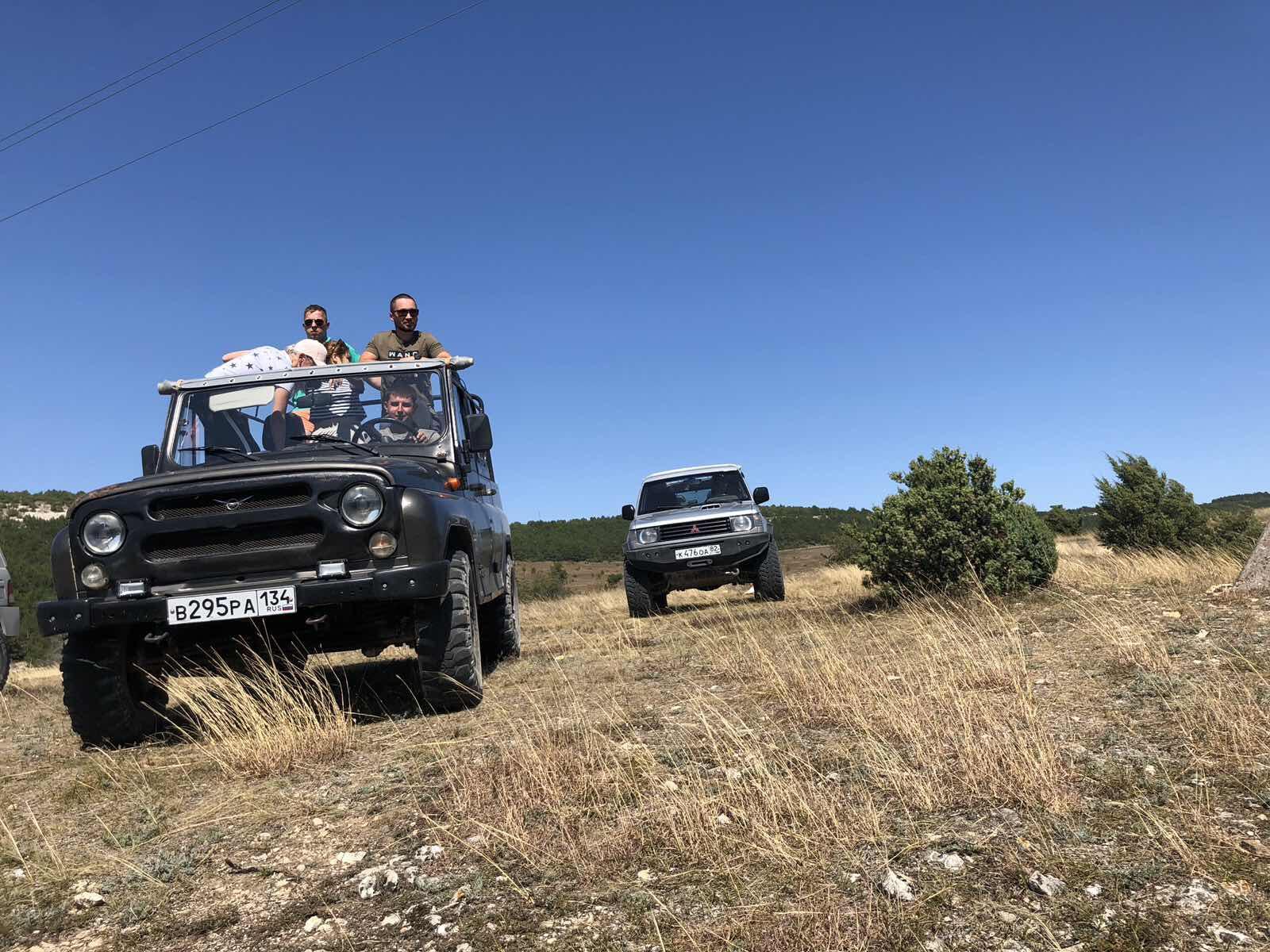 Прогулки на уазах Крым